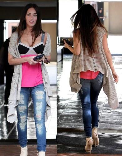 Megan Fox e seu cabelo divíno!